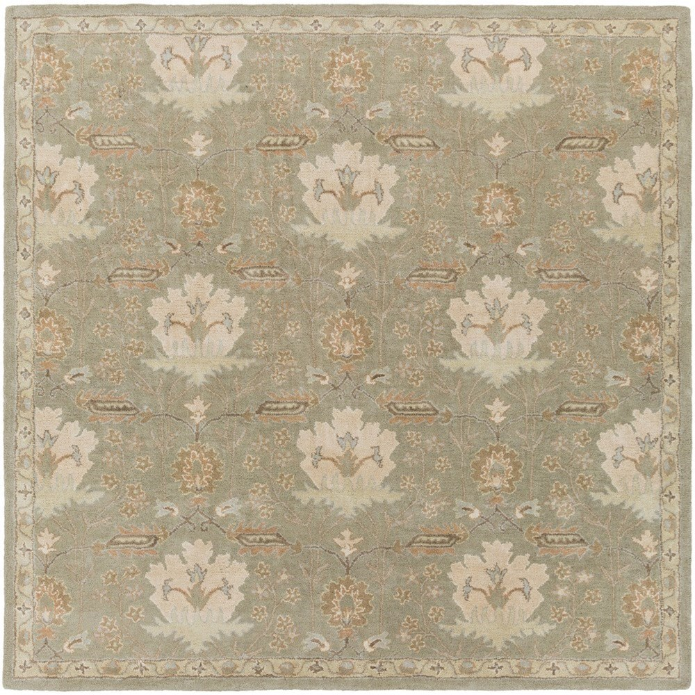 Surya Caesar 6' Square - Item Number: CAE1160-6SQ