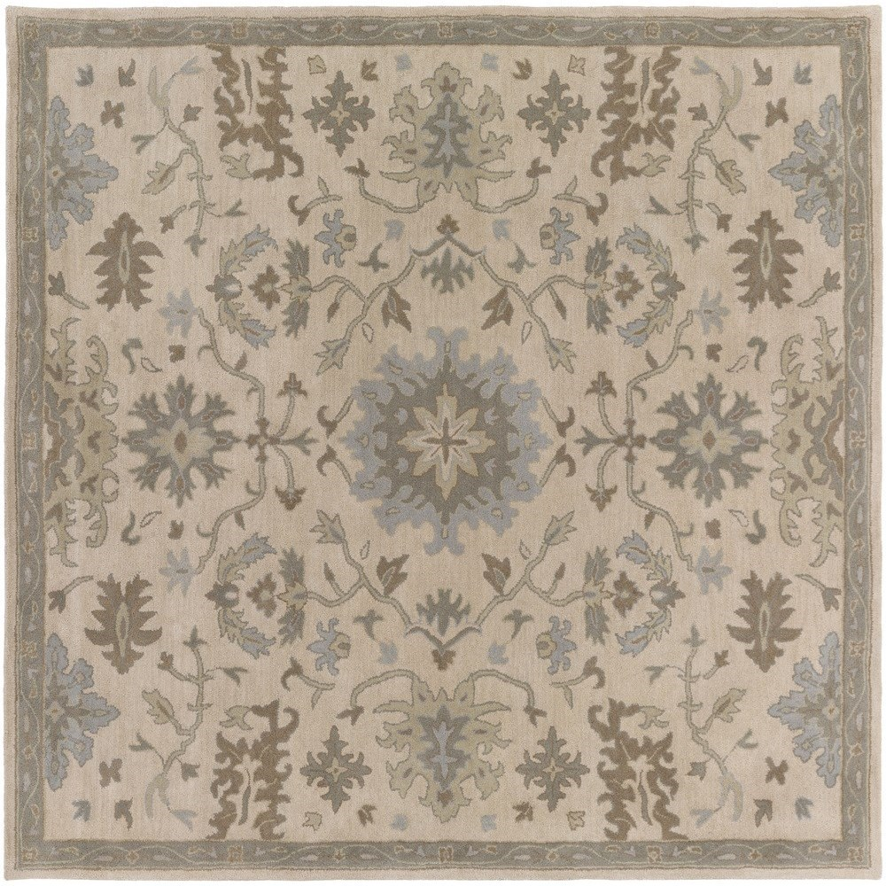 Surya Caesar 6' Square - Item Number: CAE1161-6SQ