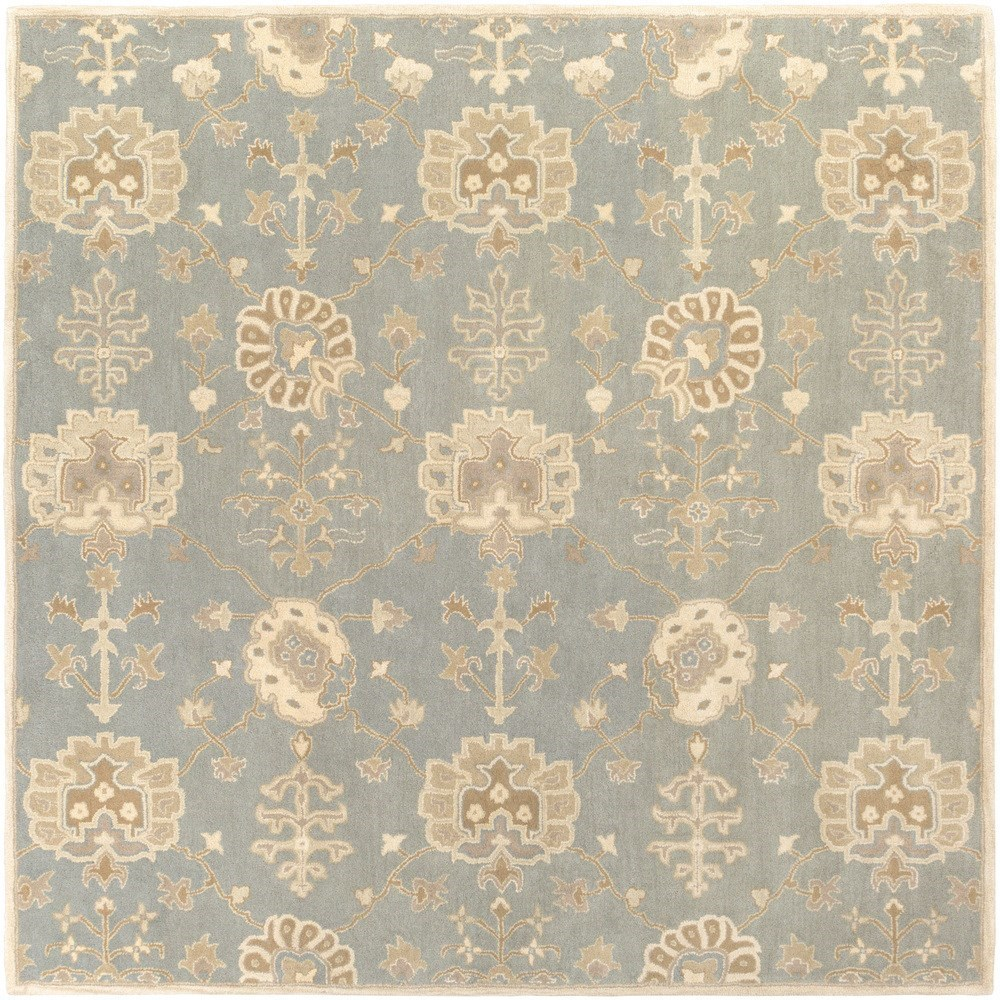 Surya Caesar 4' Square - Item Number: CAE1163-4SQ
