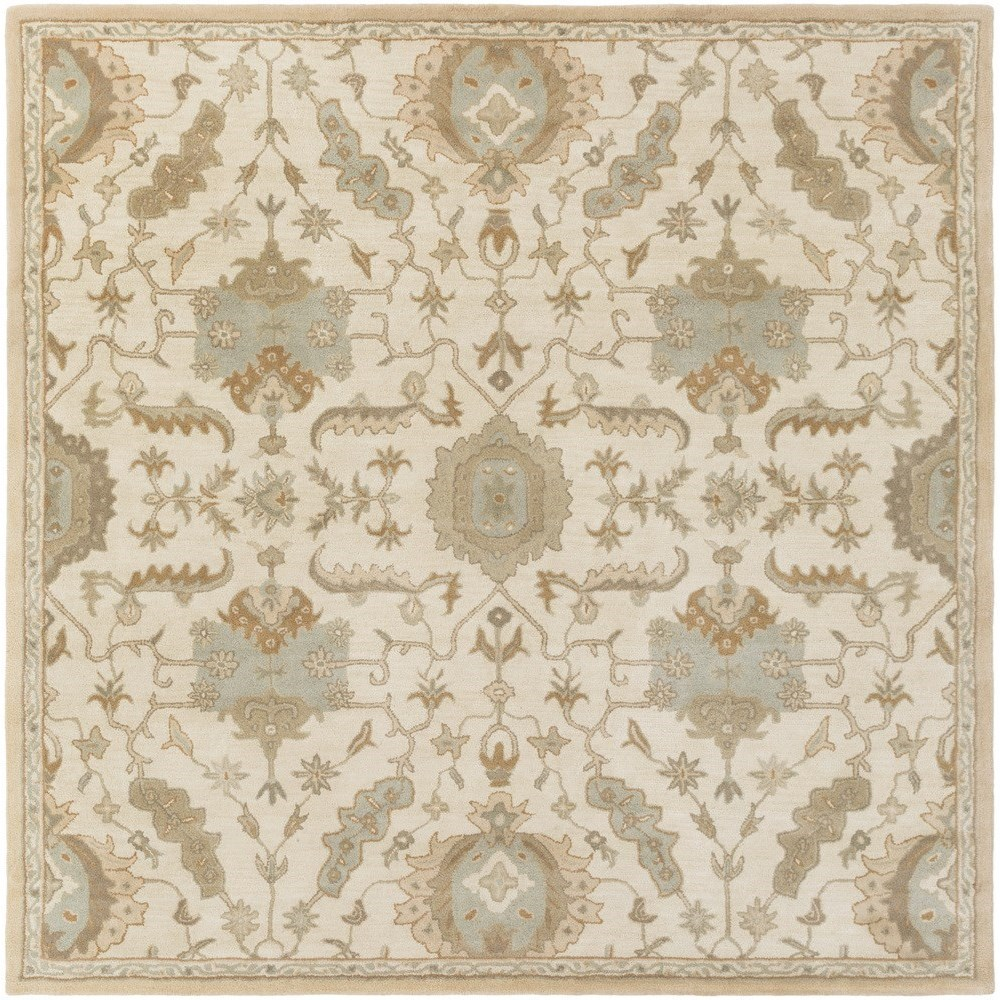 Surya Rugs Caesar 4' Square - Item Number: CAE1166-4SQ