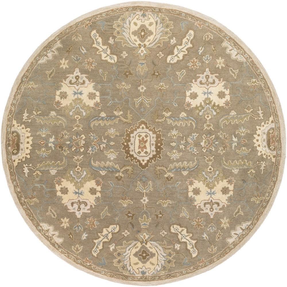 Surya Caesar 6' Round - Item Number: CAE1167-6RD