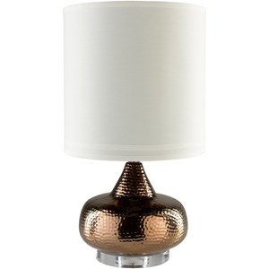 Bronze Global Table Lamp