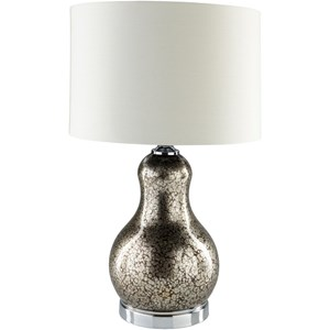 Surya Carmichael Pewter Table Lamp