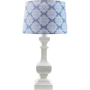 Surya Carolina White Modern Table Lamp
