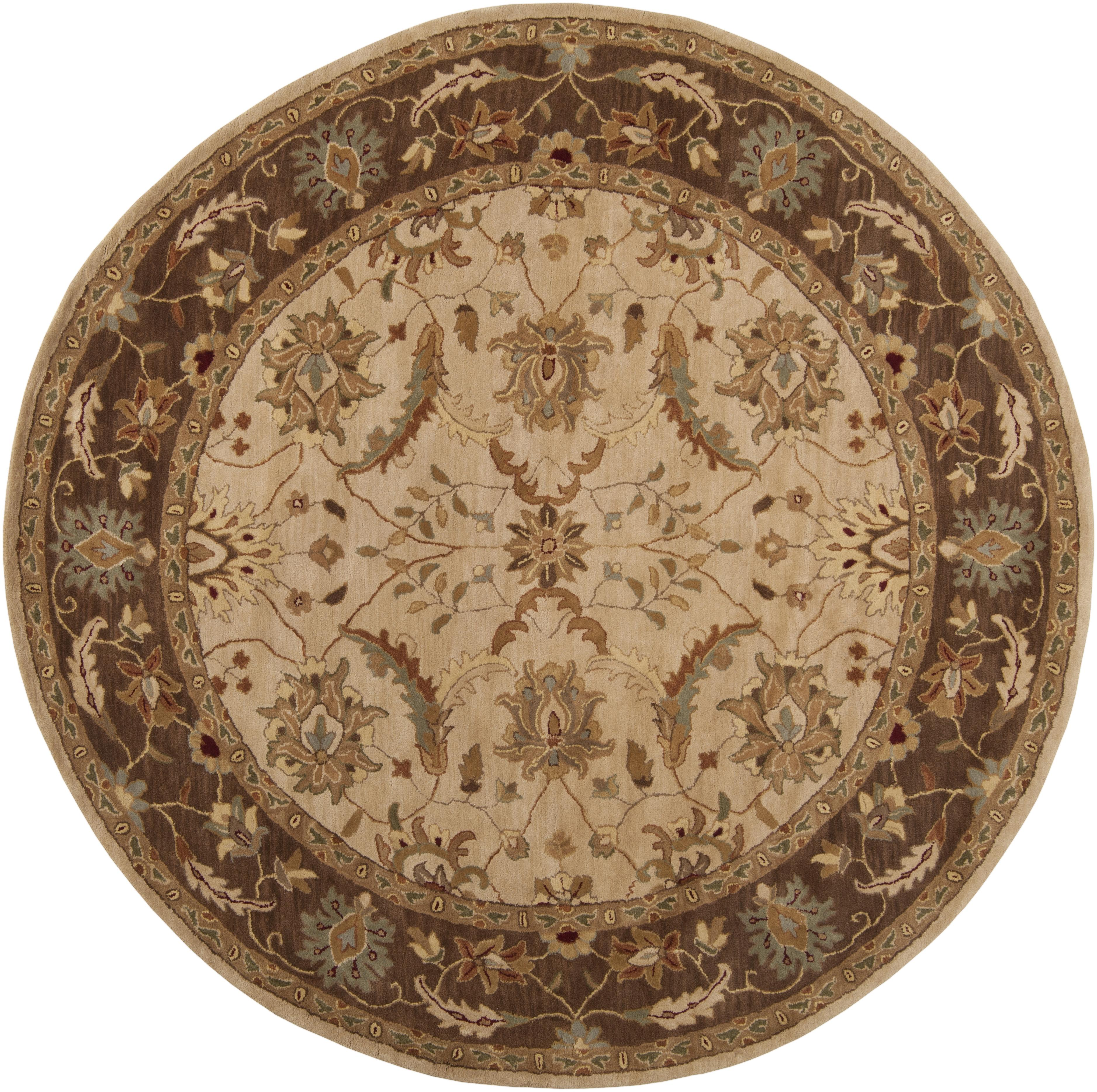 Surya Clifton 8' Round - Item Number: CLF1013-8RD