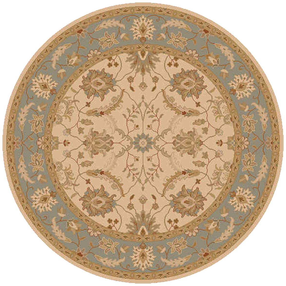 Surya Clifton 8' Round - Item Number: CLF1014-8RD