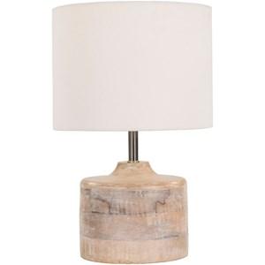Surya Coast Natural Finish Contemporary Table Lamp