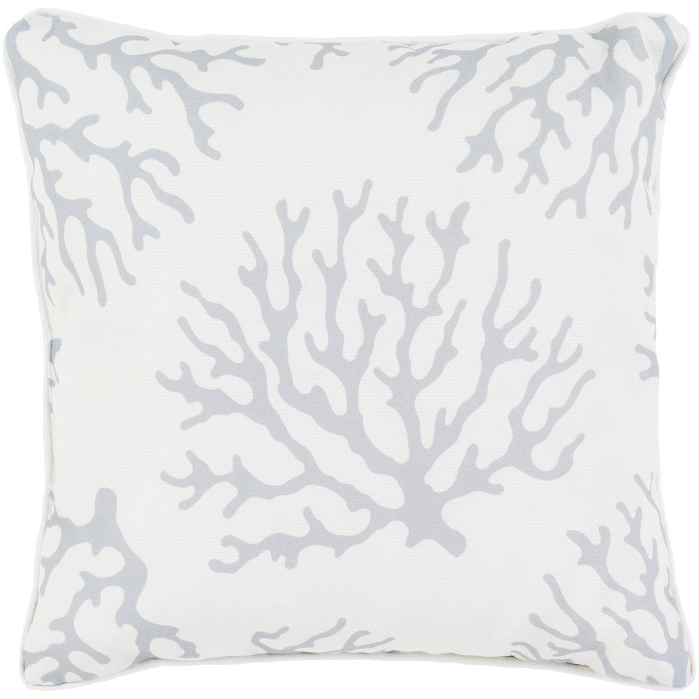 Surya Coral 20 x 20 x 4 Polyester Throw Pillow - Item Number: CO005-2020