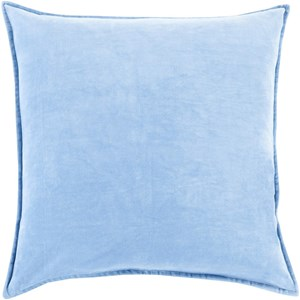 Surya Cotton Velvet 20 x 20 x 4 Down Throw Pillow
