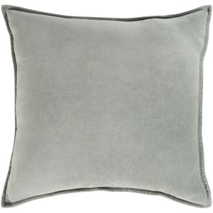 Surya Cotton Velvet 13 x 19 x 4 Down Lumbar Pillow