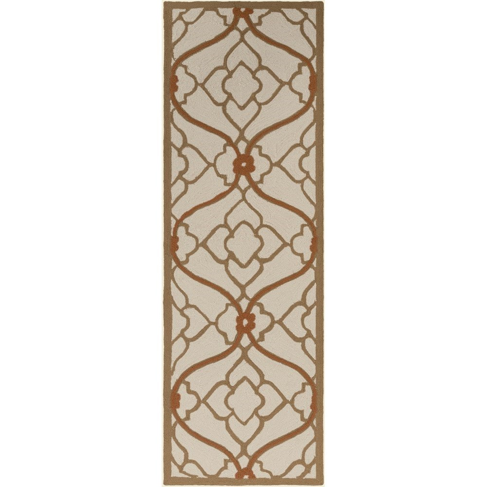 "Surya Courtyard 2'6"" x 8' - Item Number: CTY4001-268"