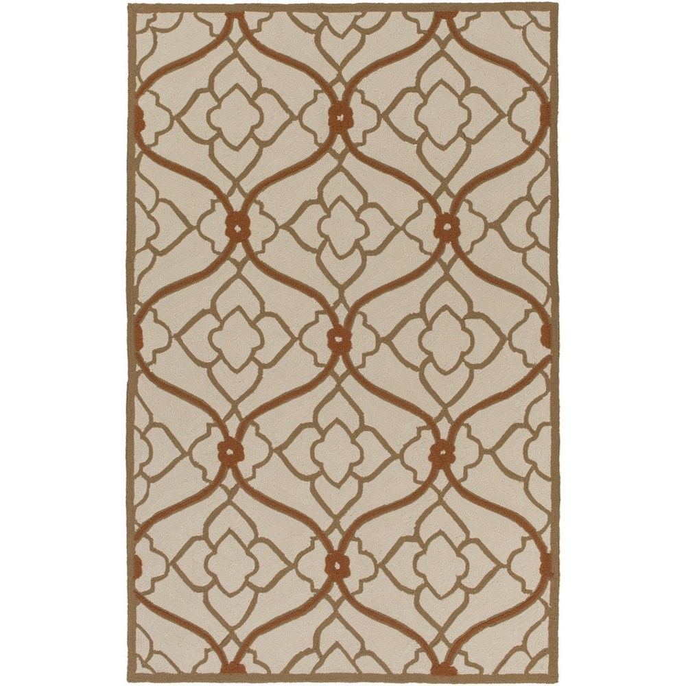 Surya Courtyard 4' x 6' - Item Number: CTY4001-46