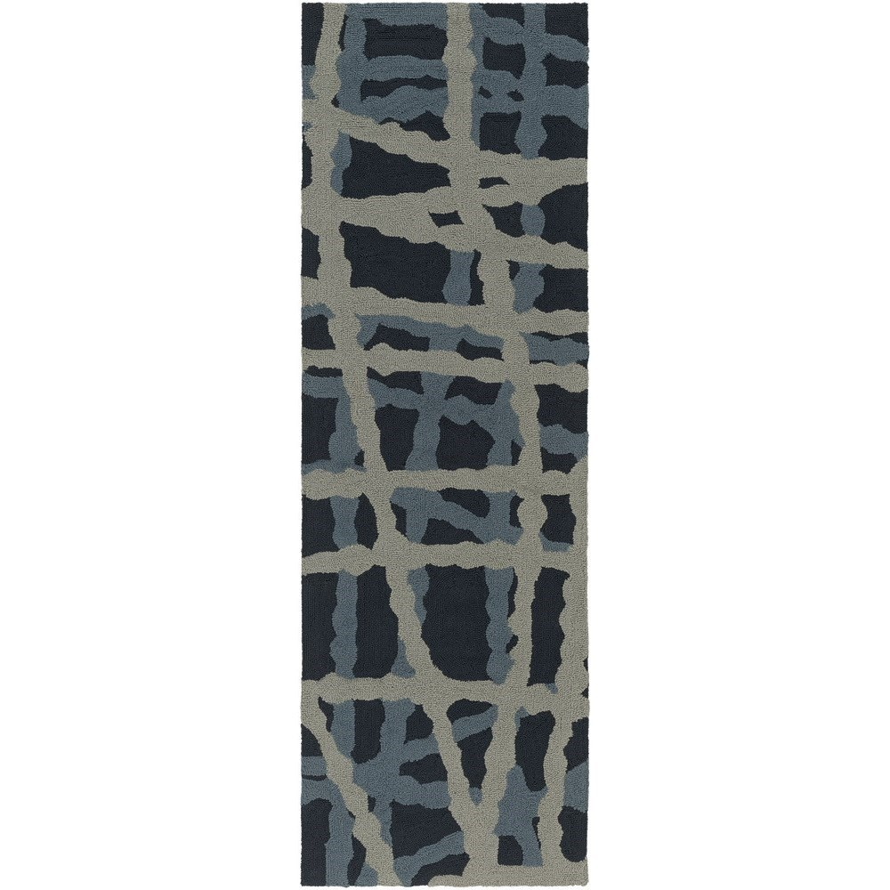"Surya Courtyard 2'6"" x 8' - Item Number: CTY4008-268"