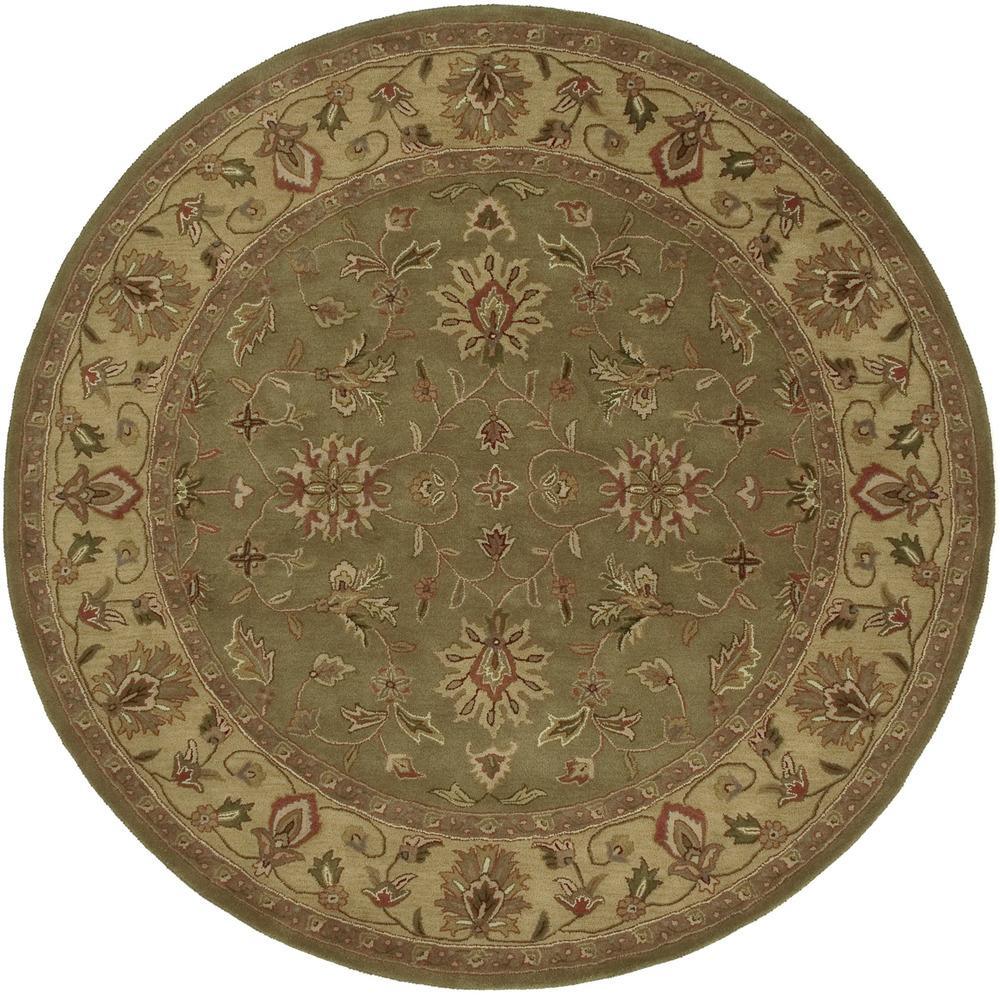 Surya Crowne 8' Round - Item Number: CRN6001-8RD