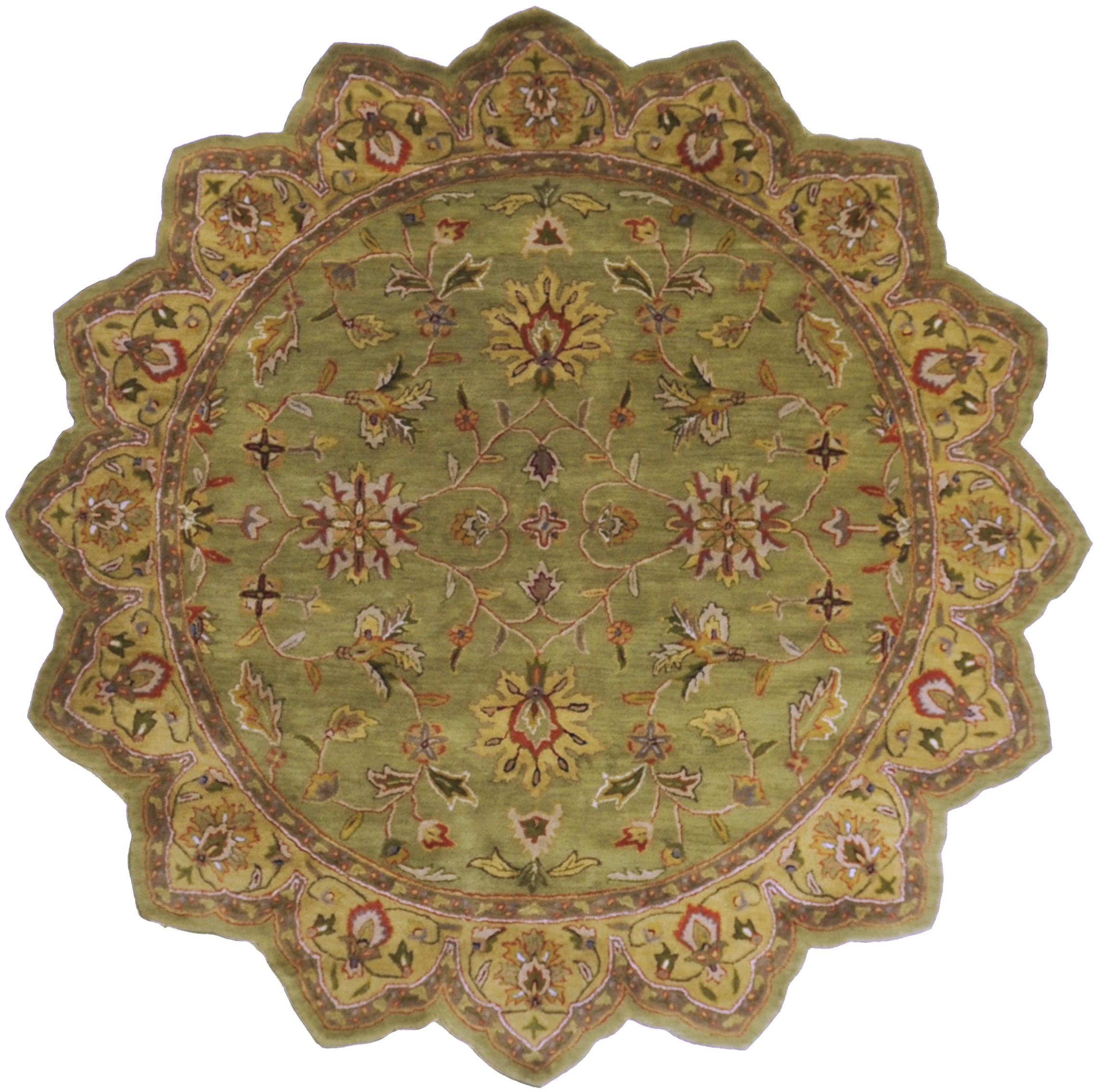 Surya Rugs Crowne 8' Star - Item Number: CRN6001-8STAR
