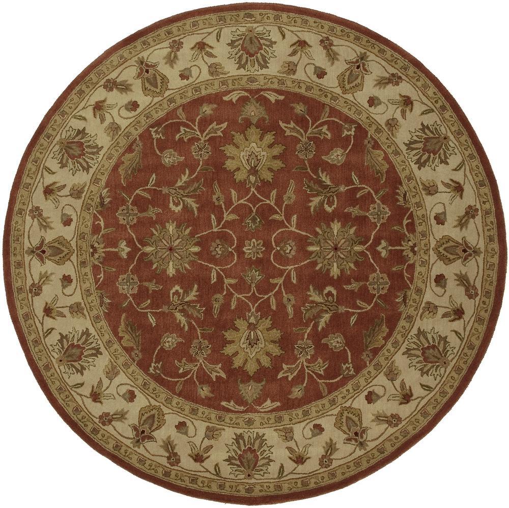 Surya Crowne 8' Round - Item Number: CRN6002-8RD