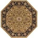 Surya Crowne 8' Octagon - Item Number: CRN6007-8OC