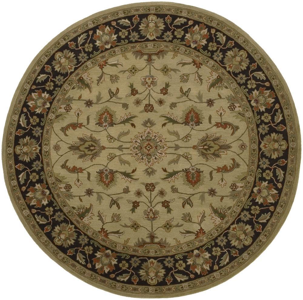 Surya Crowne 8' Round - Item Number: CRN6007-8RD
