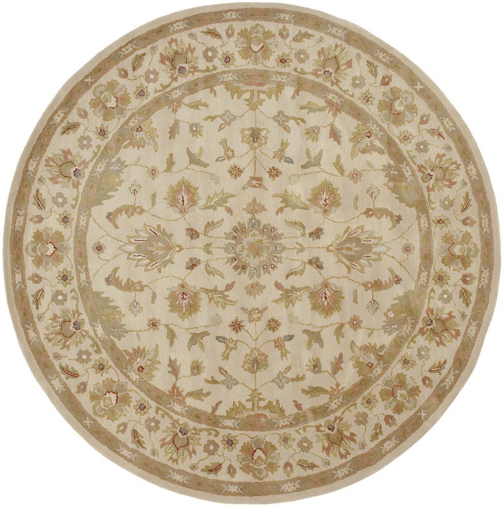 Surya Crowne 8' Round - Item Number: CRN6011-8RD