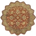 Surya Rugs Crowne 8' Star - Item Number: CRN6019-8STAR