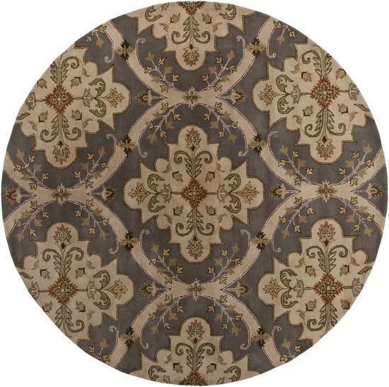 Surya Rugs Crowne 8' Round - Item Number: CRN6026-8RD