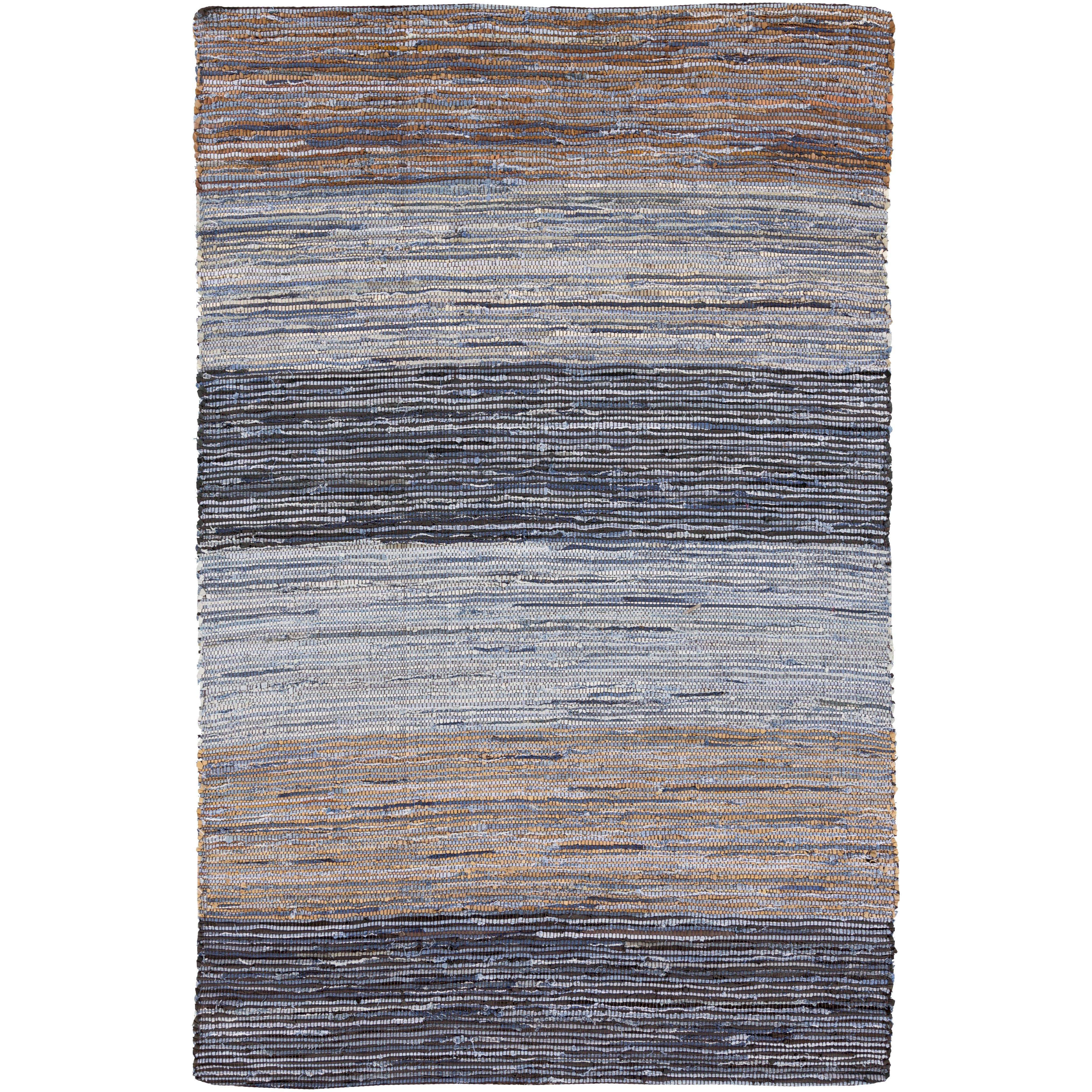 "Surya Rugs Denim 3'6"" x 5'6"" - Item Number: DNM1000-3656"