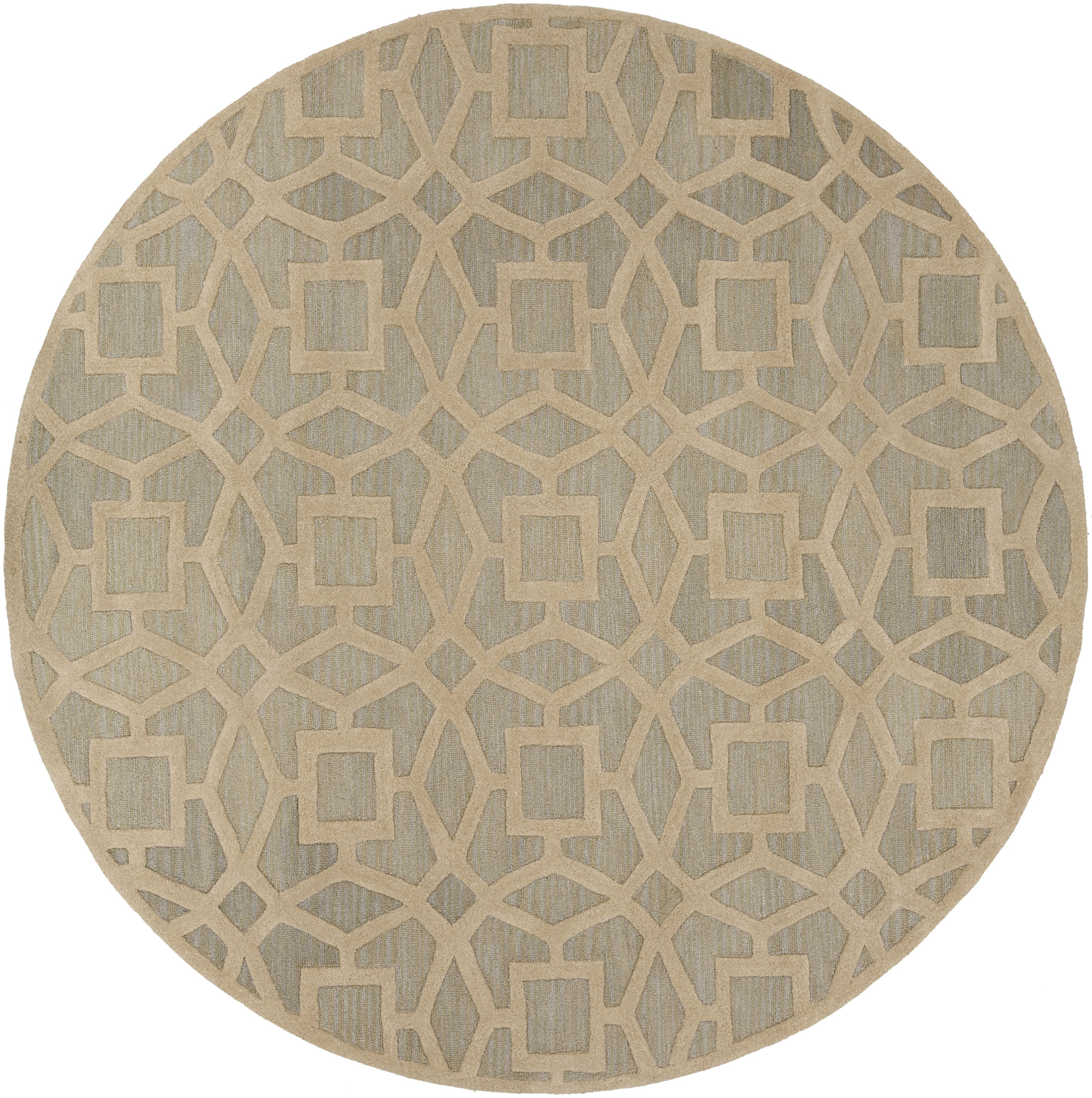 Surya Rugs Dream 8' Round - Item Number: DST1170-8RD