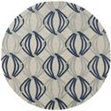 Surya Rugs Dream 8' Round - Item Number: DST1175-8RD
