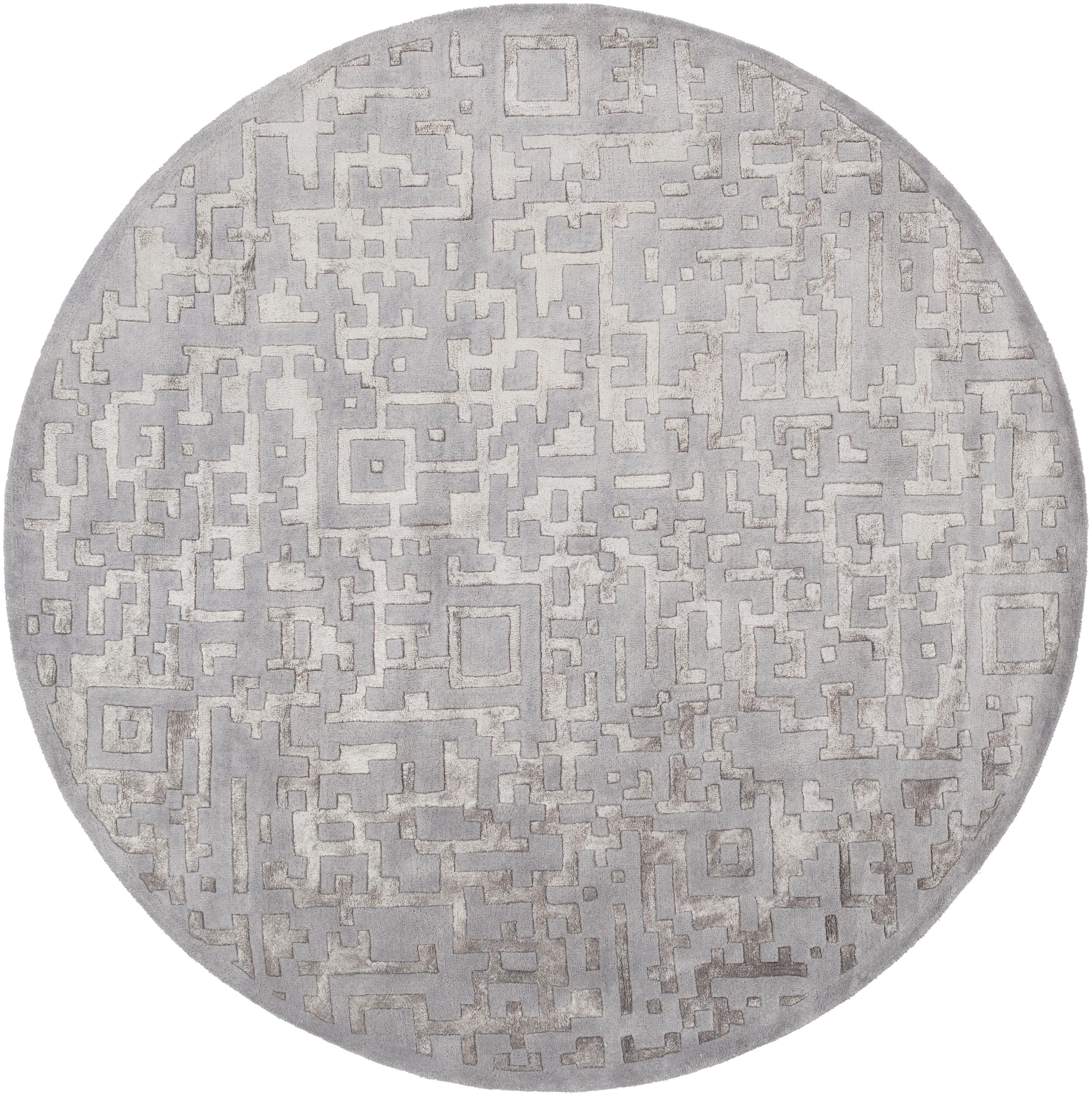 Surya Rugs Essence 8' Round - Item Number: ESS7690-8RD