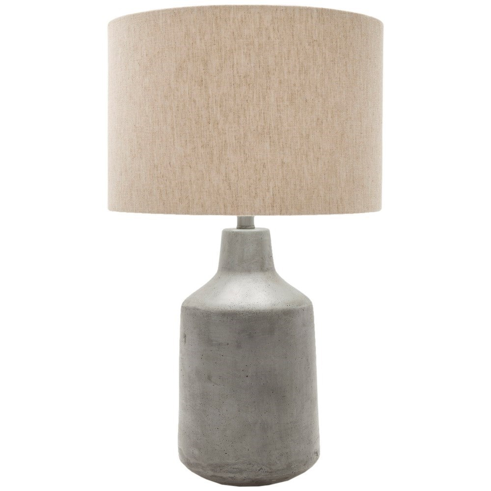 Painted Rustic Table Lamp