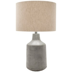 Surya Foreman Painted Rustic Table Lamp