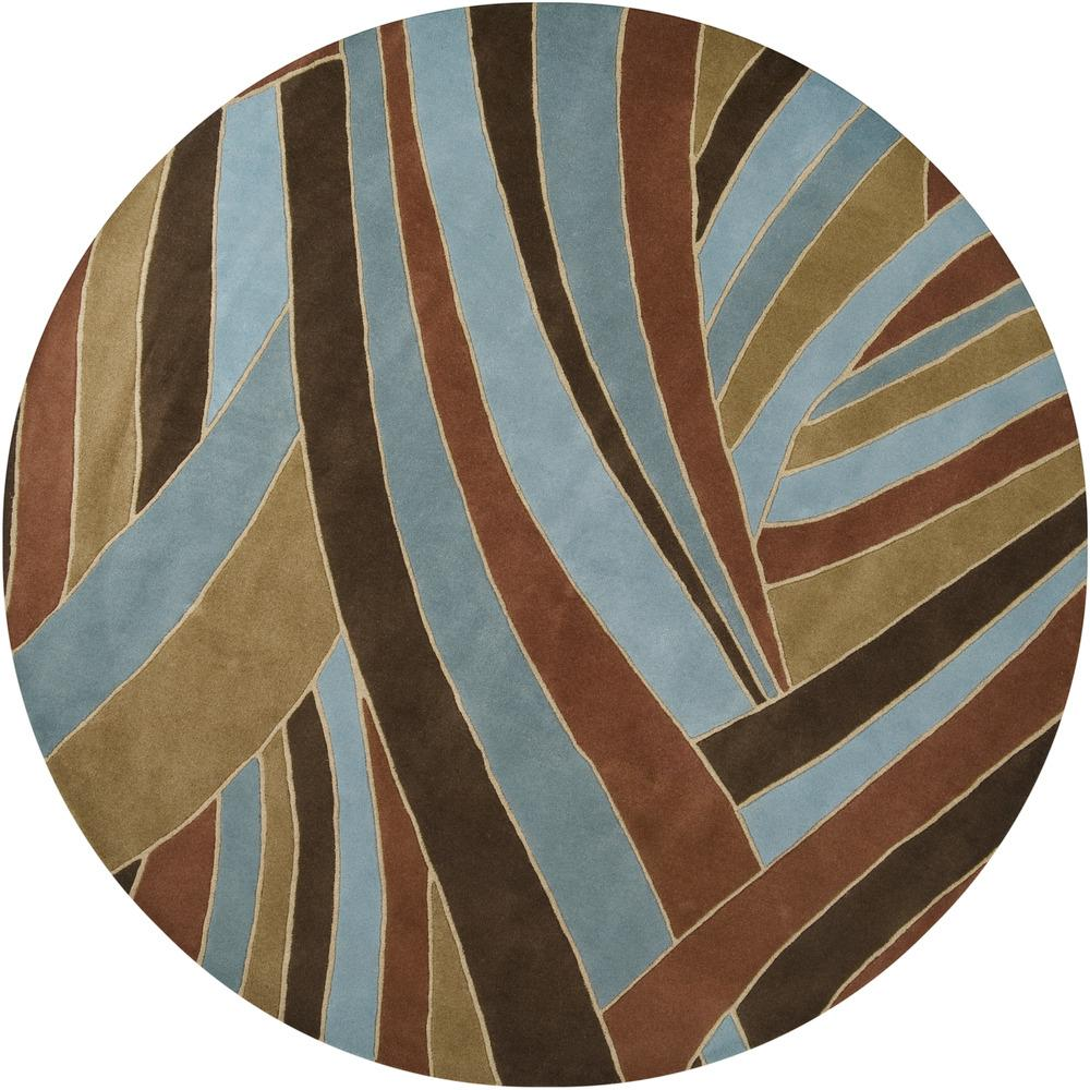"Surya Rugs Forum 9'9"" Round - Item Number: FM7002-99RD"