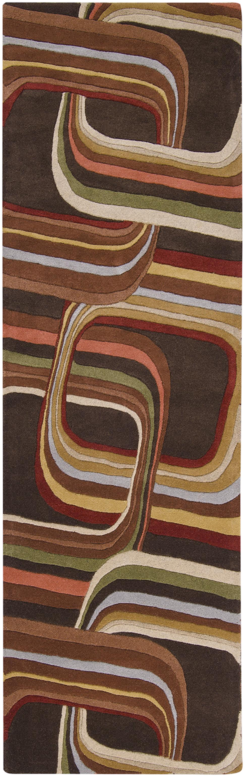 "Surya Rugs Forum 2'6"" x 8' - Item Number: FM7007-268"