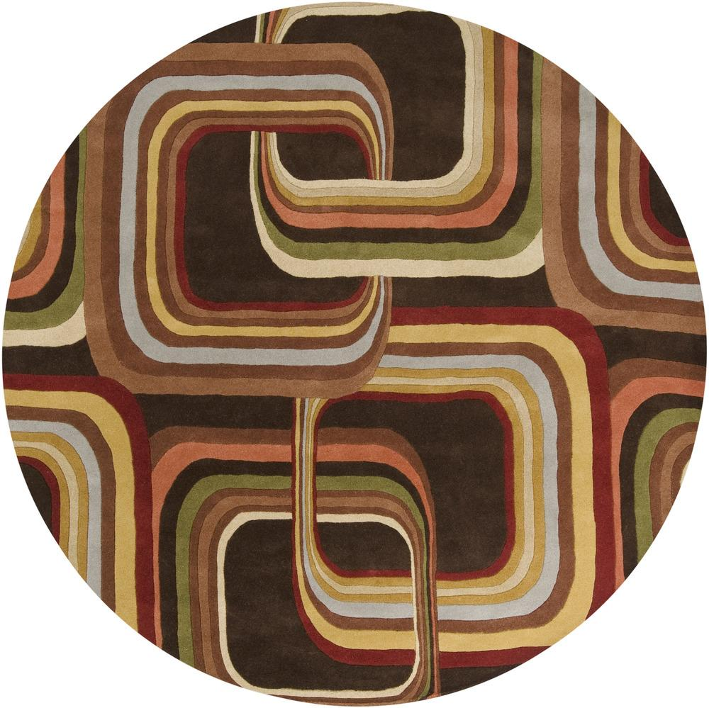 Surya Rugs Forum 4' Round - Item Number: FM7007-4RD
