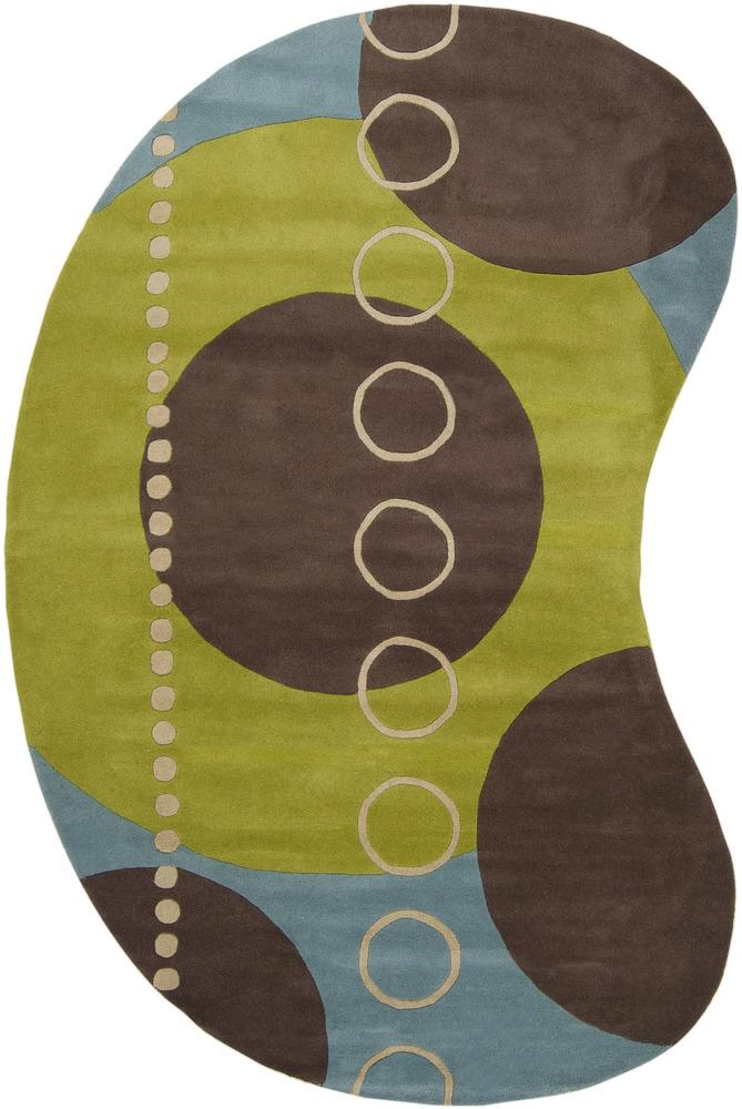 Surya Rugs Forum 6' x 9' Kidney - Item Number: FM7013-69KDNY