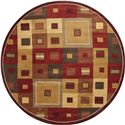 Surya Rugs Forum 8' Round - Item Number: FM7014-8RD