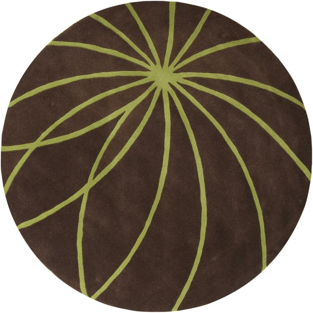 Surya Rugs Forum 8' Round - Item Number: FM7073-8RD