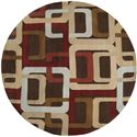 Surya Rugs Forum 4' Round - Item Number: FM7106-4RD