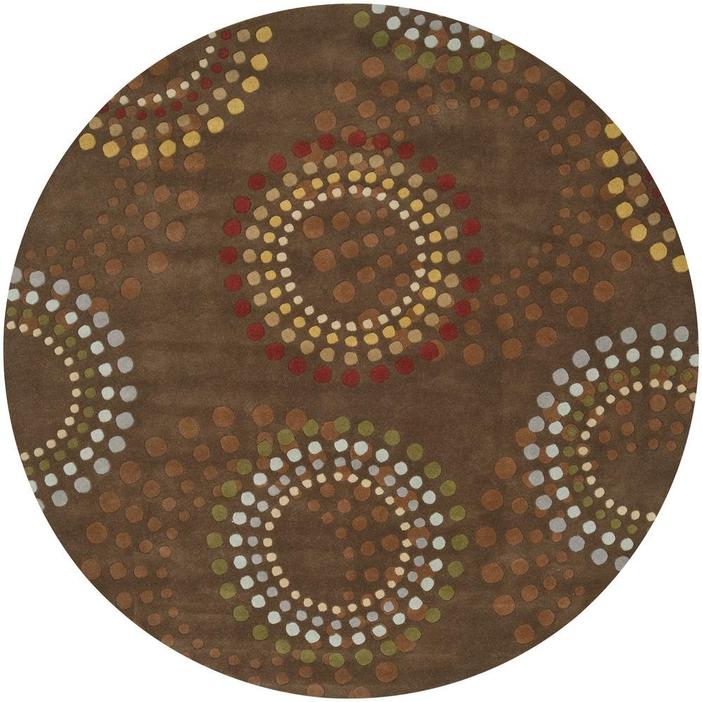 "Surya Rugs Forum 9'9"" Round - Item Number: FM7107-99RD"