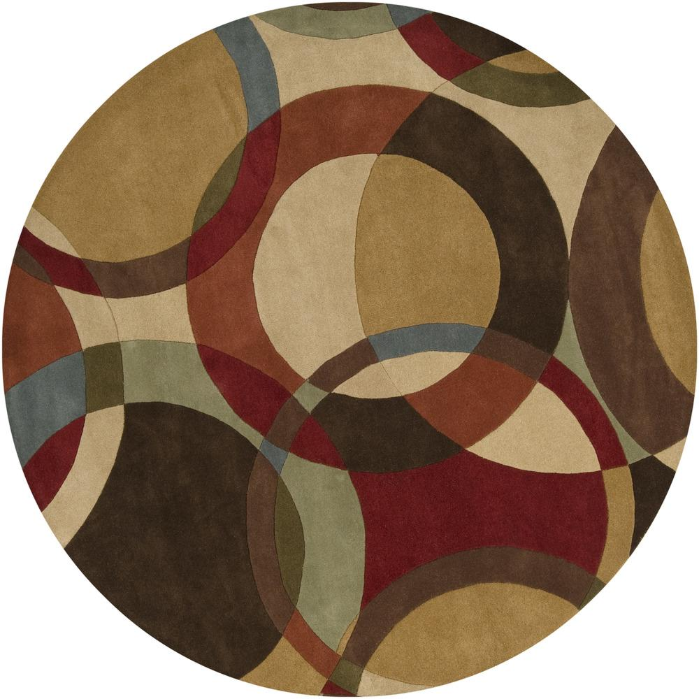 "Surya Rugs Forum 9'9"" Round - Item Number: FM7108-99RD"