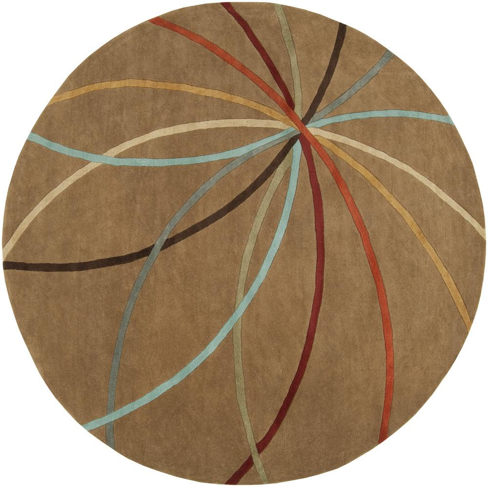 Surya Rugs Forum 4' Round - Item Number: FM7140-4RD
