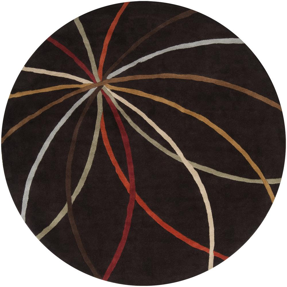 Surya Rugs Forum 4' Round - Item Number: FM7141-4RD