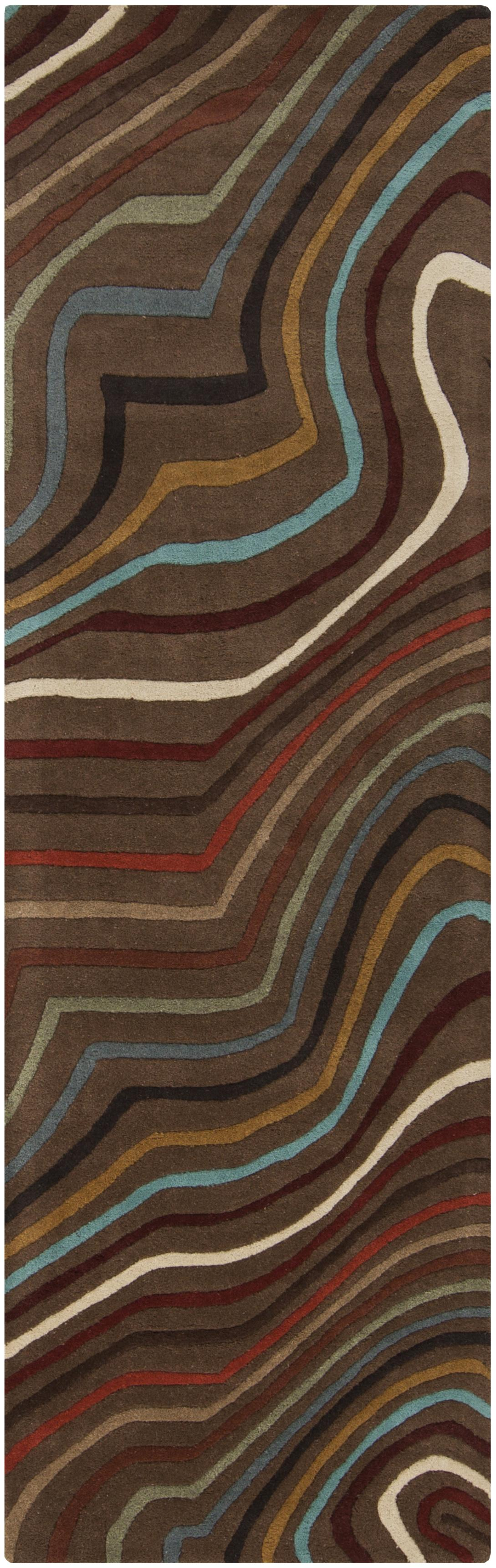 "Surya Rugs Forum 2'6"" x 8' - Item Number: FM7155-268"