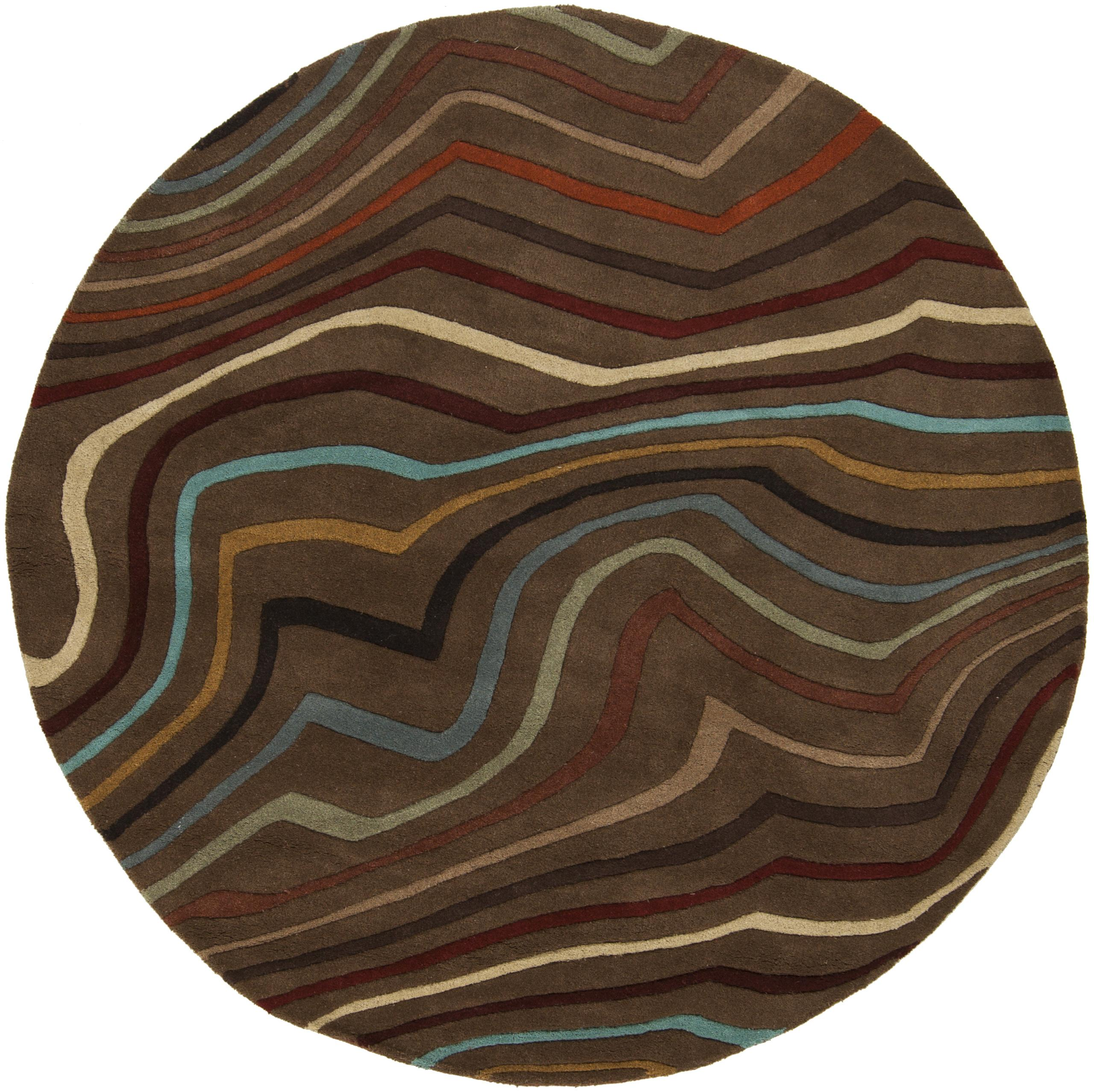 Surya Rugs Forum 8' Round - Item Number: FM7155-8RD