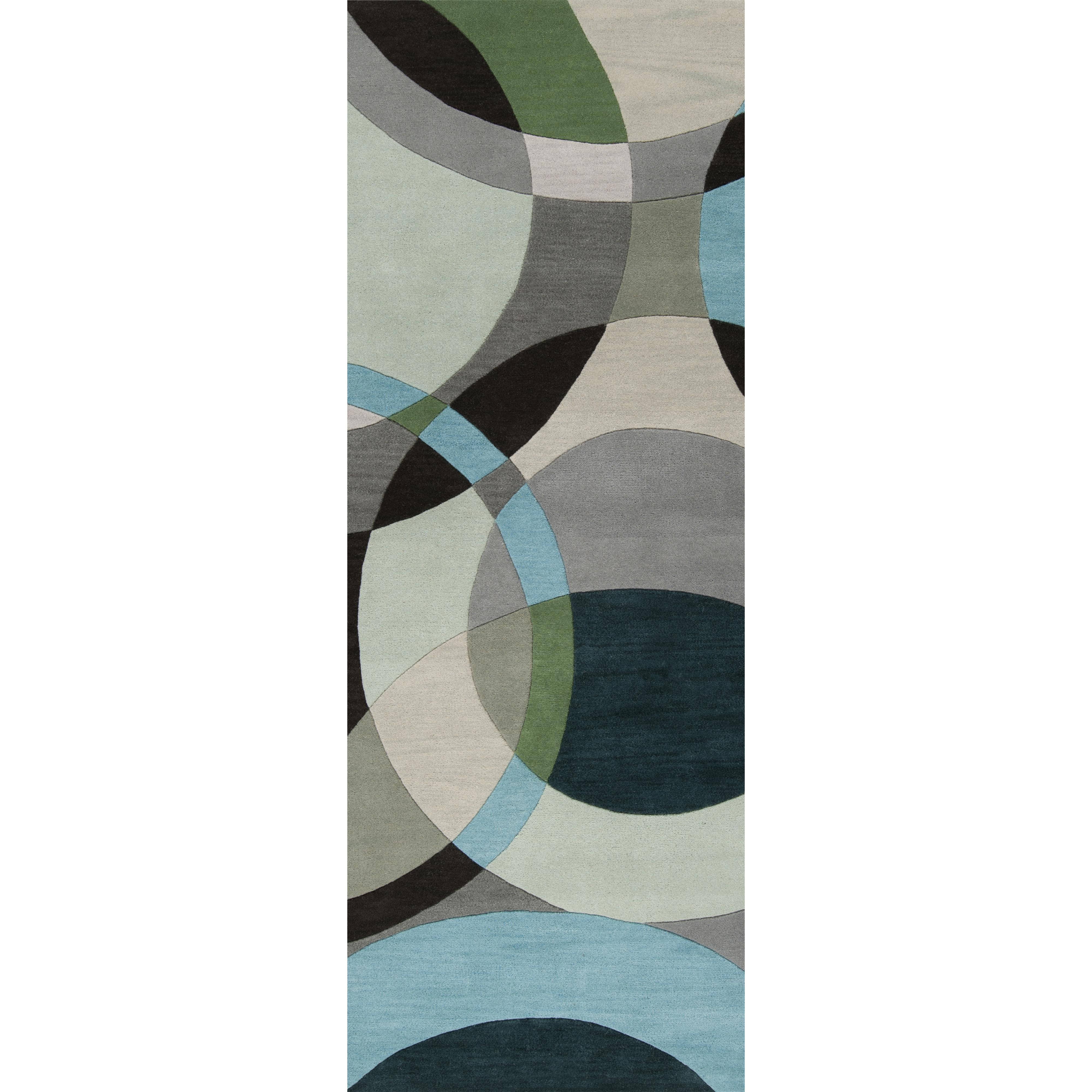 "Surya Rugs Forum 2'6"" x 8' - Item Number: FM7157-268"