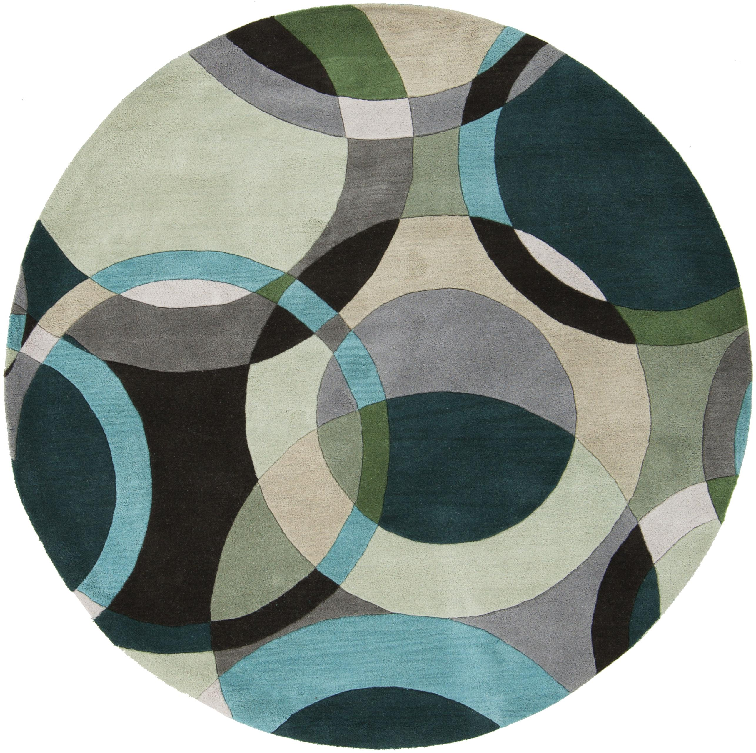 Surya Rugs Forum 4' Round - Item Number: FM7157-4RD