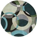 "Surya Rugs Forum 9'9"" Round - Item Number: FM7157-99RD"