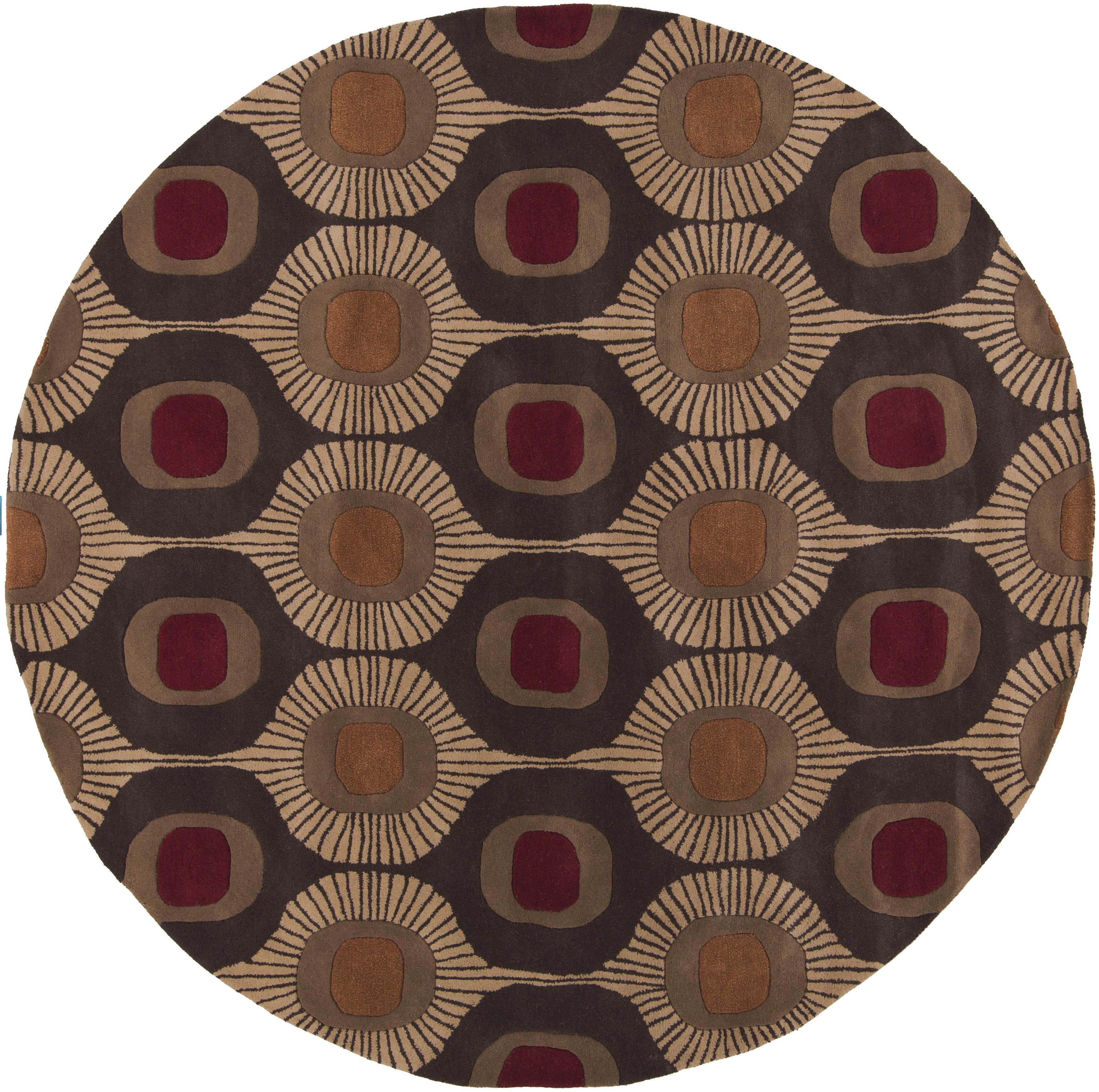 Surya Rugs Forum 4' Round - Item Number: FM7170-4RD