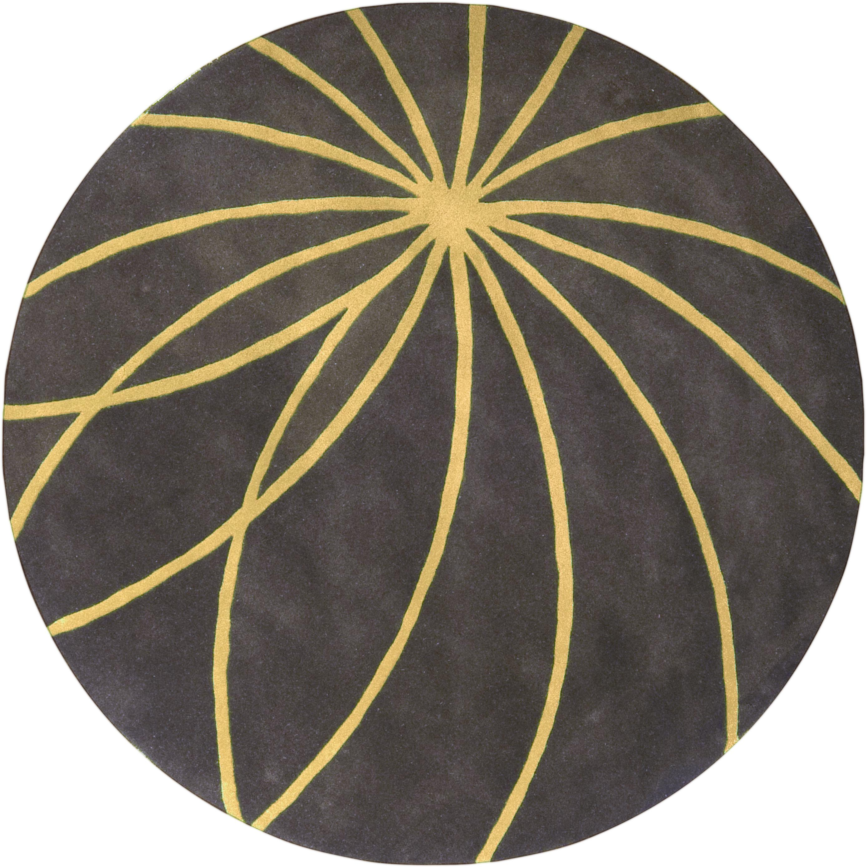 Surya Rugs Forum 4' Round - Item Number: FM7181-4RD