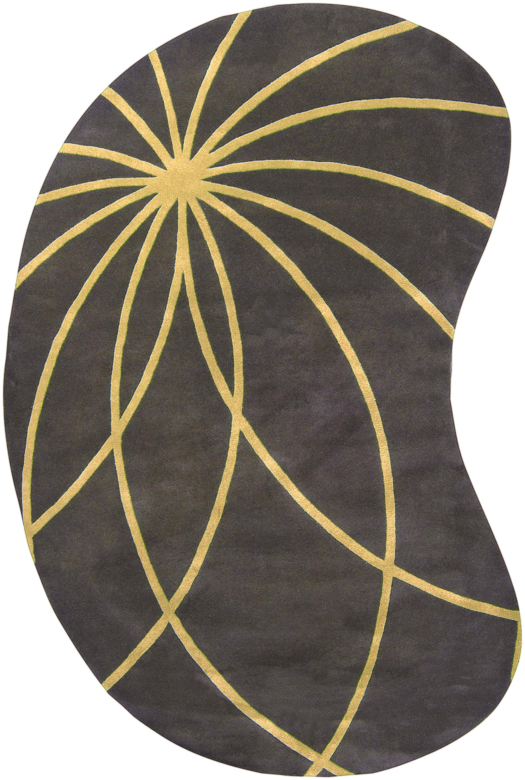 Surya Rugs Forum 6' x 9' Kidney - Item Number: FM7181-69KDNY